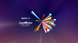 Das Logo des Eurovision Song Contest 2021 in Rotterdam. Foto: Clever°Franke