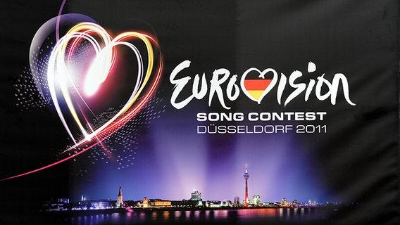 Logo für den ESC in Düsseldorf.  Fotograf: Sari Gustafsson
