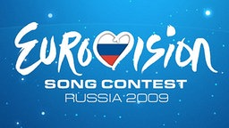 Logo des Eurovision Song Contest 2009 in Moskau © EBU