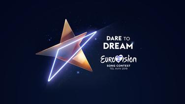 "Das Logo und Motto ""Dare to dream"" des ESC 2019 in Tel Aviv. © EBU"