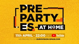 Das Logo der PreParty ES online am 11. April 2020. © Eurovision-spain Foto: Eurovision-spain