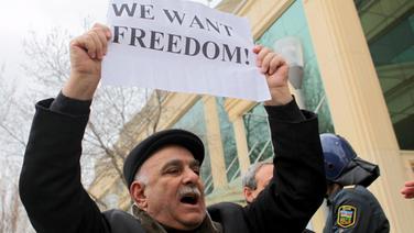 Festnahmen Nach Demonstration Vor Staatsfernsehen In Baku News