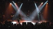 Die ukrainische Sängerin Ruslana bei einem Auftritt in Hannover