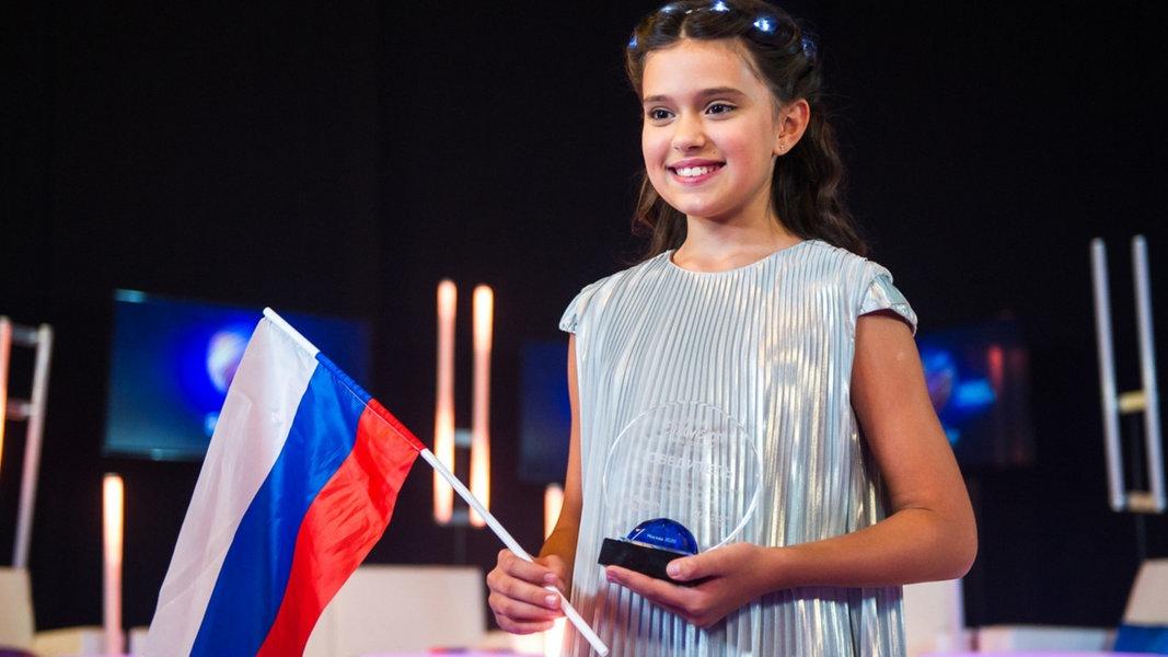 Junior ESC: Sofia Feskova ist Russlands Kandidatin
