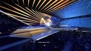 Eine Animation der Bühne des Eurovision Song Contest 2020 in Rotterdam.  Foto: NPO/AVROTROS/NOS
