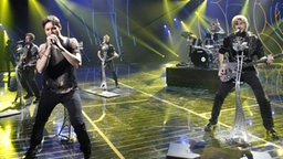 "Die Band Litesound aus Weißrussland mit dem Song ""We Are The Heroes"". © Eurovision TV Fotograf: Thomas Hanses"