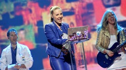 San Marino, Valentina Monetta , The Social Network Song © Eurovision TV Fotograf: Elke Roels