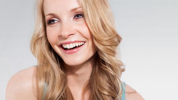 Porträt der Moderatorin Janin Reinhardt © BWM Communications GmbH Foto: Nadine Dilly