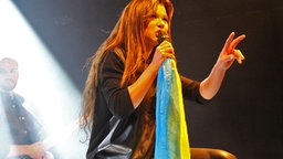 Ruslana live auf der Bühne © Ruslana Press Office