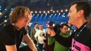 Michael Schulte im Interview mit Thomas Mohr © NDR