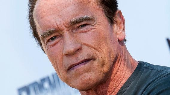 Schauspieler und Politiker Arnold Schwarzenegger  Fotograf: Genin Nicolas