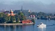 Blick auf die Insel Kastellholmen im Zentrum Stockholms © Visit Stockholm Foto: Henrik Trygg