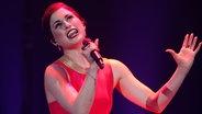 Ann Sophie auf der Bühne beim deutschen ESC-Vorentscheid. © NDR Fotograf: Rolf Klatt