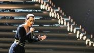 Ann Sophie bei der ersten Probe in Wien © EBU Fotograf: Elena Volotova