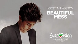 "Bulgariens ESC-Kandidat Kristian Kostov in seinem Musikvideo zu ""Beautiful Mess"""