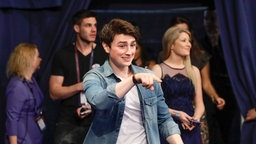 Brendan Murray im ESC-Backstage-Bereich in Kiew. © Eurovision.tv Foto: Andres Putting
