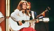 Nicolebei einem Auftritt 1982. © Press Association