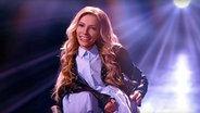 Die russische ESC-Kandidatin Julia Samoylova auf der Bühne. © Julia Samoylova