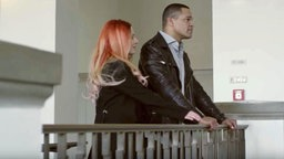 "Valentina Monetta und Jimmie Wilson in ihrem Musikvideo zu ""Spirit Of The Night"". © Valentina Monetta/Jimmie Wilson"