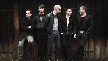 Gruppenfoto der Band Woods of Birnam.