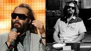 Zum Verwechseln ähnlich: Sébastien Tellier (links) und The Dude (aus dem Film: The Big Lebowski, gespielt von Jeff Bridges, rechts im Bild). © picture-alliance / KPA Honorar und Belege