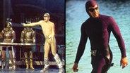 Zum Verwechseln ähnlich: Tänzer von Mister Fisto (links) und The Phantom (rechts). © picture alliance