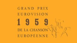 4. Eurovision Song Contest 1959 in Cannes, Frankreich © eurovision.tv