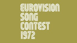 17. Eurovision Song Contest 1972 in Edinburgh, Schottland © eurovision.tv