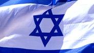 Die israelische Flagge © Picture-Alliance Fotograf: Michel Gounot