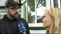 Sido im Interview mit Janin Reinhardt © NDR Foto: Screenshot