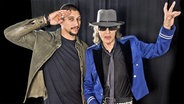 Andreas Bourani und Udo Lindenberg © MDR Foto: Tine Acke