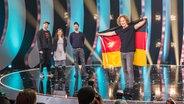 Michael Schulte gewinnt den Vorentscheid 2018 in Berlin. © NDR Fotograf: Rolf Klatt