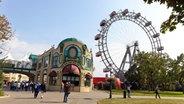 Das Riesenrad im Wiener Prater. © Picture-Alliance / Chromorange
