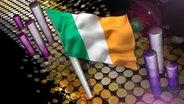 Die Landesflagge von Irland © fotolia.com
